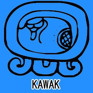 マヤ暦 太陽の紋章 青い嵐 意味 特徴 KAWAK
