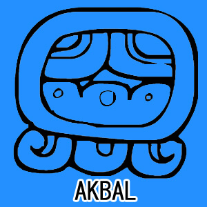 マヤ暦 太陽の紋章 青い夜 意味 特徴 AKBAL