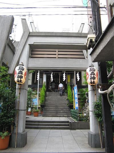 烏森神社 東京 おすすめ 口コミ ランキング パワースポット